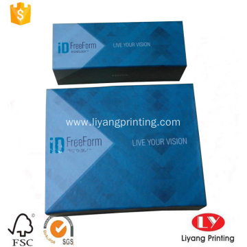Hot printed magnetic folding gift cardboard box